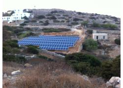Φ/B πάρκο 100 kWp, Αμοργός