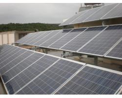 Φ/Β σύστημα ισχύος 7,7 kWp σε ταράτσα μονοκατοικίας στo Αλιβέρι Ευβοίας απο τον αντιπρόσωπό μας στην περιοχή