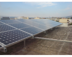 Φ/Β σύστημα ισχύος 10 kWp σε ταράτσα μονοκατοικίας στις Αχαρνές Αττικής