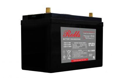 Συσσωρευτής Rolls - 12V - R12-110 AGM