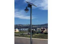 Αυτόνομα φωτοβολταϊκά φωτιστικά - Ακρωτήρι Δήμου Θήρας Σαντορίνη