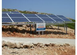 Aυτόνομο φωτοβολταϊκό σύστημα στη νήσο Στρογγύλη