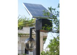 Αυτόνομα φωτοβολταϊκά συστήματα φωτισμού, Δήμος Υμηττού