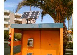 Αυτόνομα φωτοβολταϊκά συστήματα σε καρτοτηλέφωνα, Κύπρος, 2005