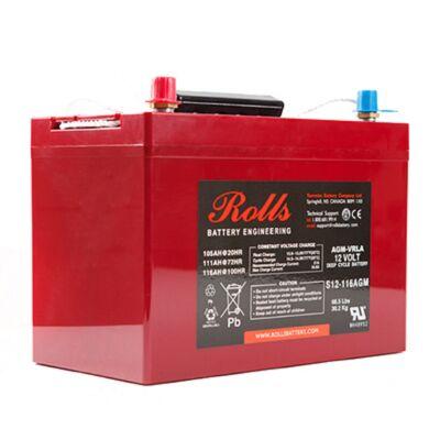 Συσσωρευτής Rolls - 12V - S12-116 AGM
